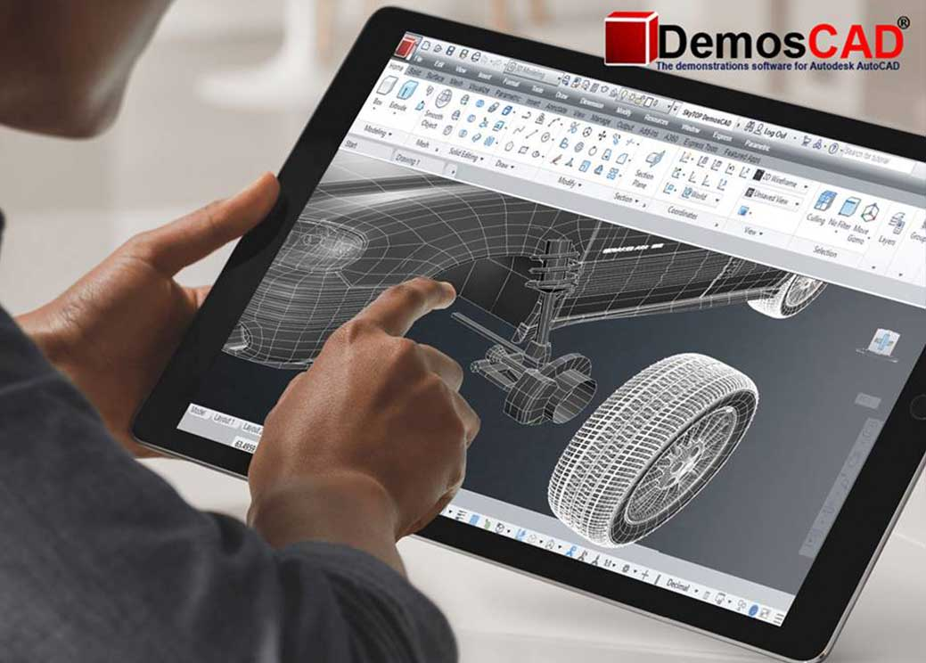 A demonstration of Autodesk Autocad commands and tools